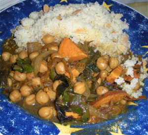 Moroccan Stew with Couscous